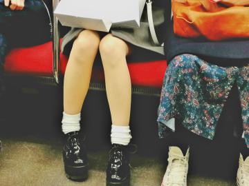 Tokyo Elena Brunello Subway Night
