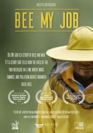 poster bee my job elena brunello dueottofilm